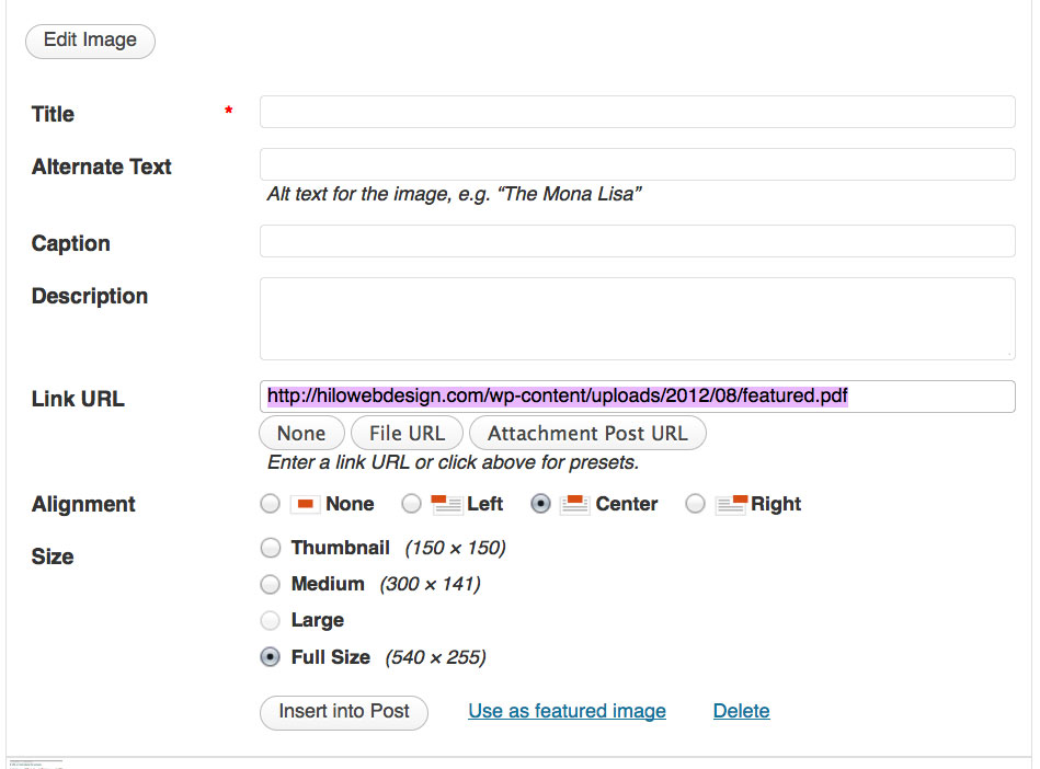Tutorial: Upload a PDF for Download on your site | Hawaii Web Design ...