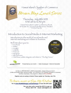 Social Media and Internet Marketing Flyer