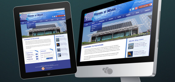 Friends Of NELHA Website Design & Development