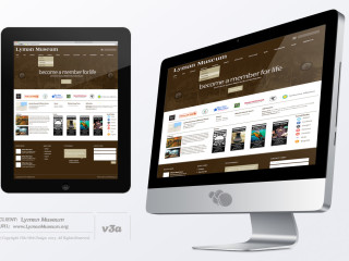 Lyman Website Design iMacMockUp_v3a
