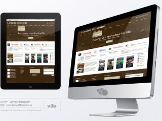 Lyman Website Design iMacMockUp_v3a