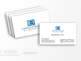 LarochellePlastering-BusinessCards-PrintDesign