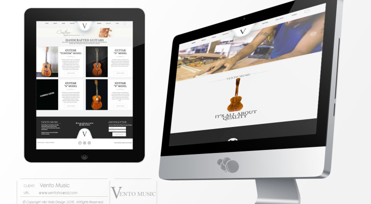 VentoMusic-Website