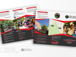 VolcanoArtCenter-Brochures-PrintDesign