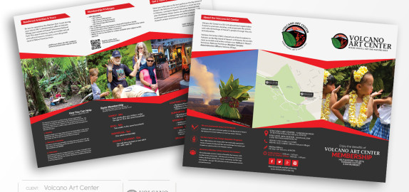 VolcanoArtCenter-Brochures-PrintDesign