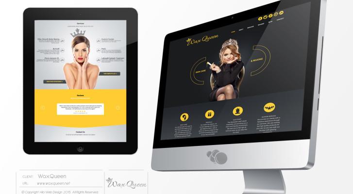 WaxQueen-Website
