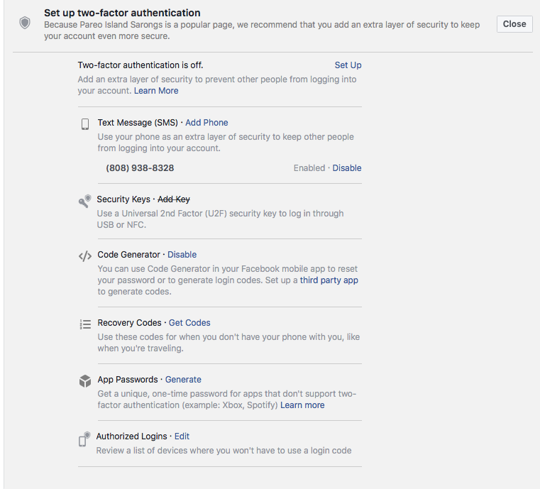 Has Your Facebook Profile Been Hacked?Hawaii Web Design and
